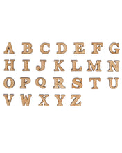 "2"" Large Single Layer Alphabet"