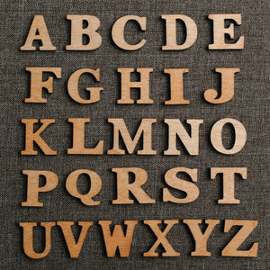 "0.50"" Small Single Layer Alphabet"