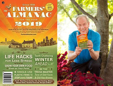 Growing Home Ep. 5 - 2019 Farmers Almanac Preview with Peter Geiger