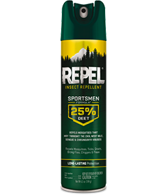 Repel Insect Repellent Sportsmen Formula, 6.5oz Aerosol