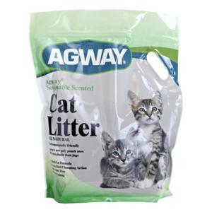 AGWAYå¨ SCOOPABLE SCENTED CAT LITTER ALL NATURAL