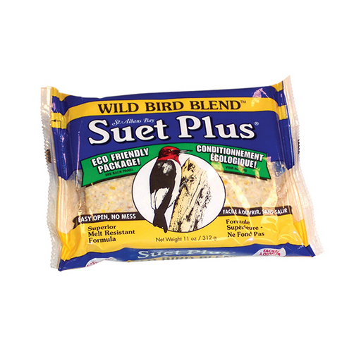Suet Plus, Wild Bird Blend, 11oz