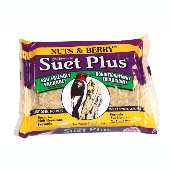 Suet Plus, Nuts & Berry Blend, 11oz