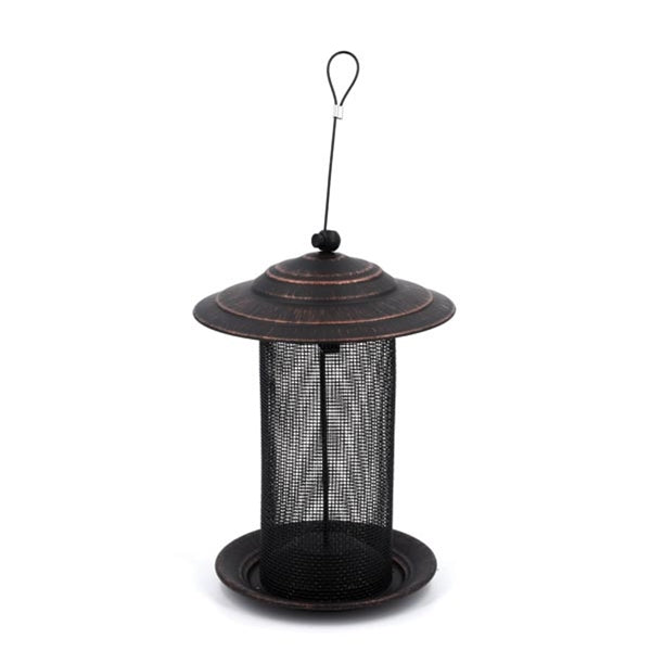 Feathered Friend OIL RUBBED THISTLE BIRD FEEDER
