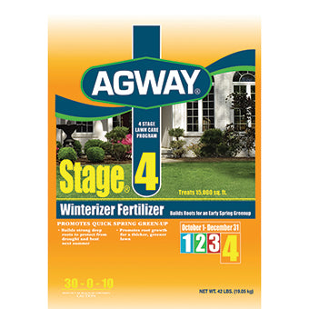 Agway Stage 4 Winter Fertilizer