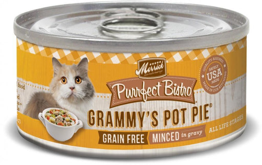 Merrick Purrfect Bistro Grammy's Pot Pie Grain Free Canned Cat Food