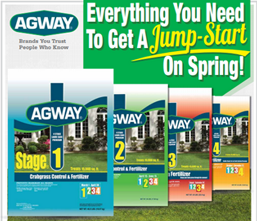 Agway 4 Stage Lawn Program