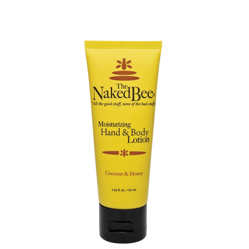 The Naked Bee, Coconut & Honey, Hand & Body Lotion, Multiple Sizes