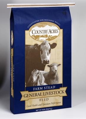 Purina Country Acres All Stock 16% 50 lb.