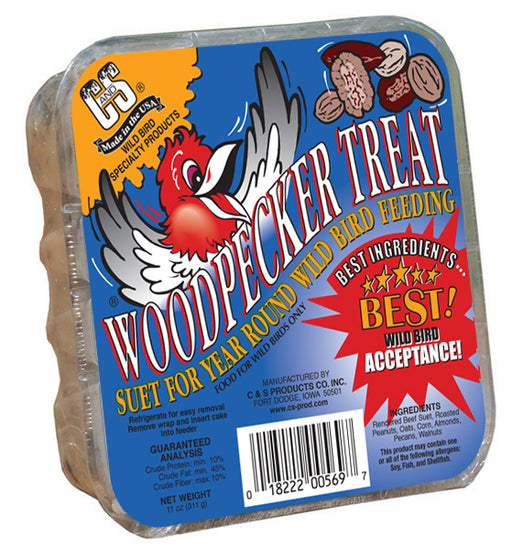 Woodpecker Suet Treats, 11oz