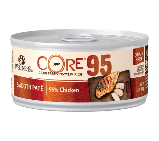 Wellness CORE 95 Wet Canned Cat Food, 95% Chicken