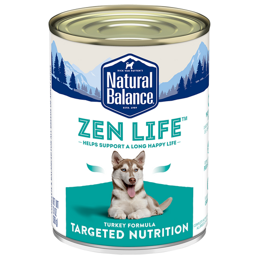 Natural Balance Targeted Nutrition Zen Life Canned Dog Food
