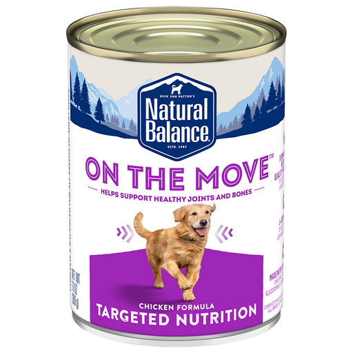 Natural Balance Targeted Nutrition On the Move Canned Dog Food