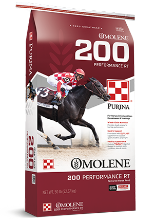 Purina Omolene 200 RT Performance Horse Feed