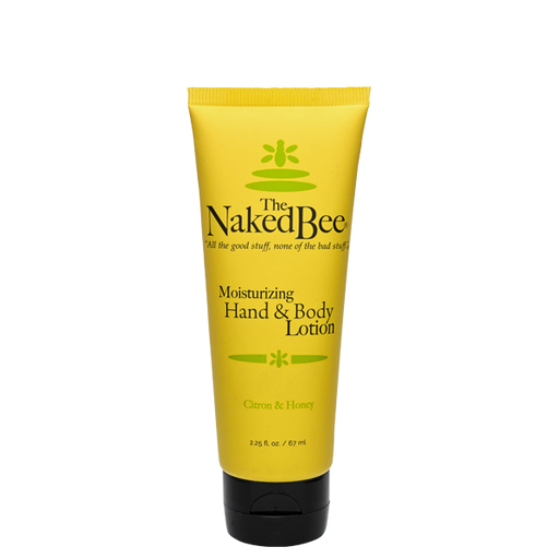 The Naked Bee, Citron & Honey, Hand & Body Lotion, Multiple Sizes