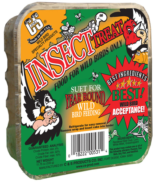 Insect Suet Treats, 11.75oz