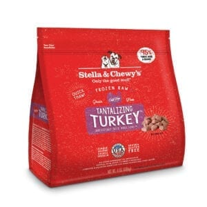 Stella & Chewy's Tantalizing Turkey Frozen Raw Dinner Morsels