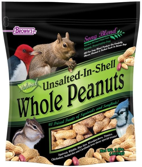 Song Blend Unsalted In-Shell Peanuts 2lbs