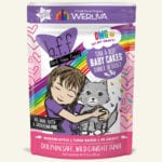 Weruva BFF Tuna & Beef Baby Cakes Tuna & Beef Dinner in Gravy Wet Cat Food Pouch
