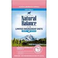 Natural Balance L.I.D. Limited Ingredient Diet Puppy Salmon & Brown Rice Formula Dry Dog Food