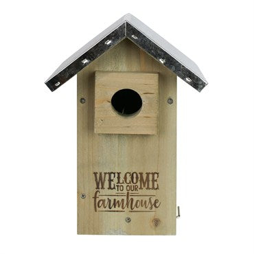 Nature's Way® Galvanized Weathered Bluebird House