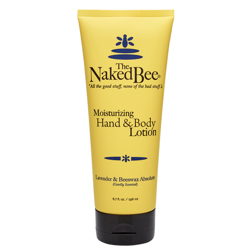 The Naked Bee, Lavender & Beeswax Absolute, Hand & Body Lotion, 6.7oz tube
