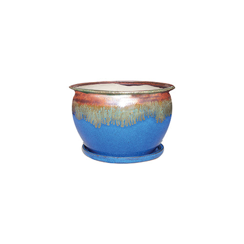 Fish Bowl Indoor Planter - Multiple Sizes & Colors