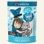 Weruva BFF PLAY Chicken & Tuna Tubular Chicken & Tuna Dinner Wet Cat Food Pouch