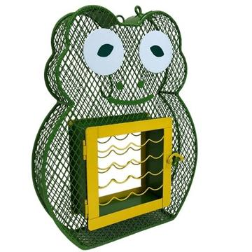 Frog Suet & Seed Feeder, Green