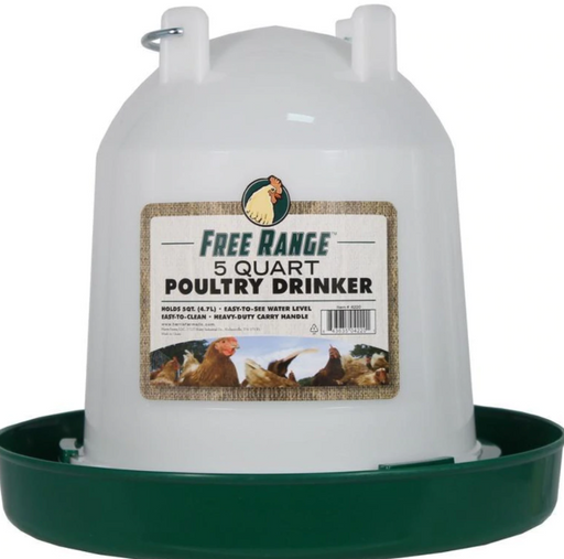 Plastic Poultry Waterer - 2 sizes available
