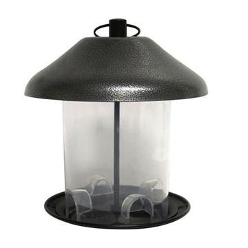 The Hammer Bird Feeder, Pewter, 1.5lb capacity