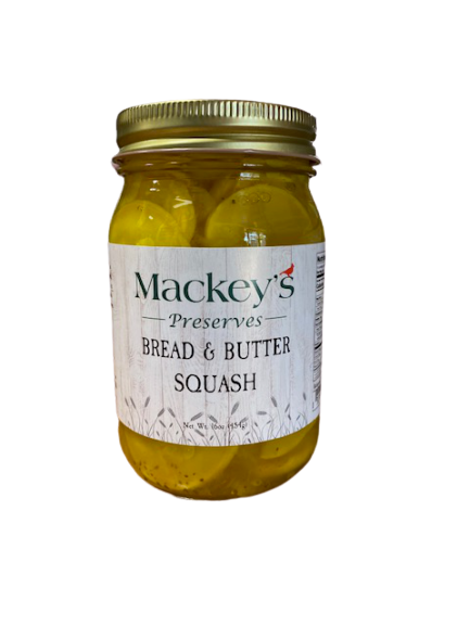 Mackey's Preserves, Bread & Butter Squash, 16oz