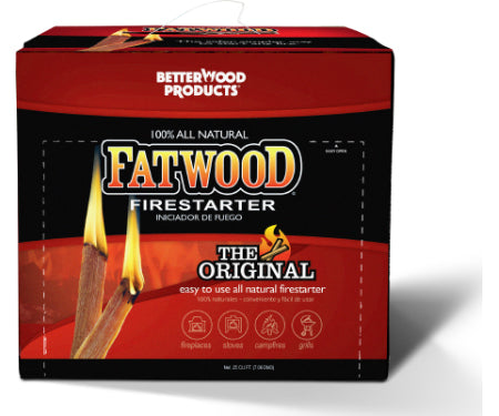 Fatwood Firestarters - Box (10 lb.)