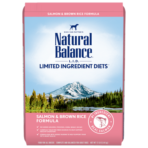 Natural Balance L.I.D. Limited Ingredient Diet Adult Salmon & Brown Rice Formula Dry Dog Food