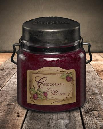 McCall's Candles, Classic Collection Chocolate & Berries, 16 oz