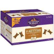 Old Mother Hubbard 6lb Value Box, P-Nuttier Dog Biscuits, Mini