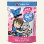 Weruva BFF PLAY Tuna & Chicken Chill Out Tuna & Chicken Dinner Wet Cat Food Pouch