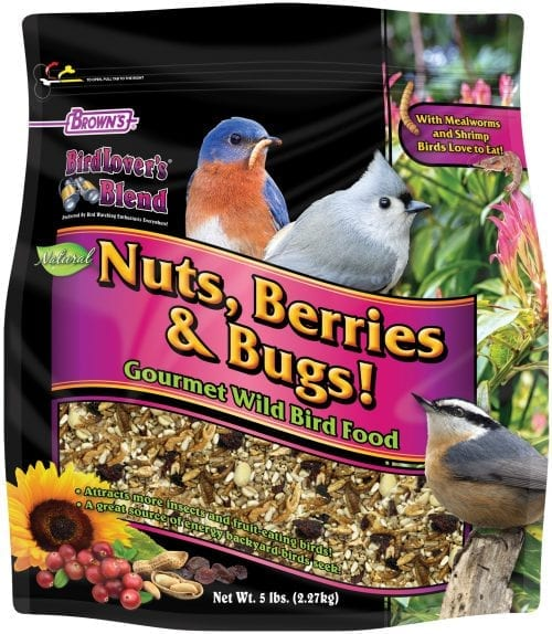 Nuts, Berries & Bugs 5lbs