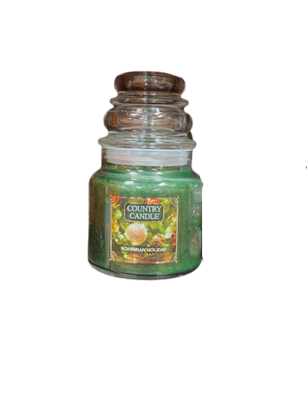 Country Candle by Kringle, Bohemian Holiday, 2-wick Jars
