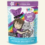 Weruva BFF OMG Booya! Beef & Chicken Dinner in Gravy Wet Cat Food Pouch