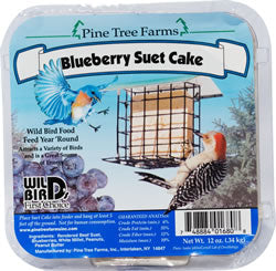 Blueberry Suet Cake 12oz.