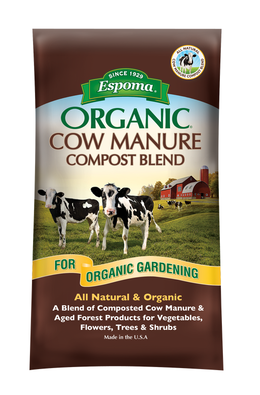 Espoma Dehydrated Cow Manure Compost Blend, 1 cu ft