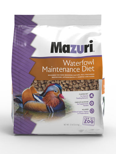 Mazuri Waterfowl Maintenance 50lbs