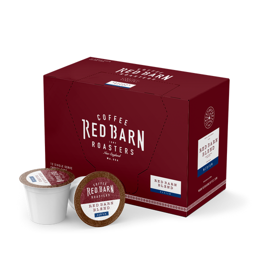 Red Barn Coffee Roasters, Red Barn Blend, Single Serve Pods, 12 count