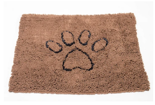The Original Dirty Dog Doormat, Brown, 3 sizes available