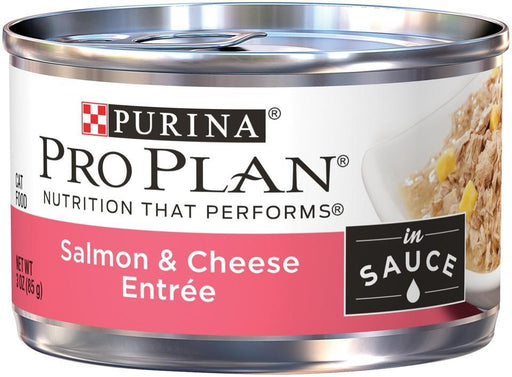 Purina Pro Plan Savor Adult Salmon & Cheese in Sauce Entree Canned Cat Food
