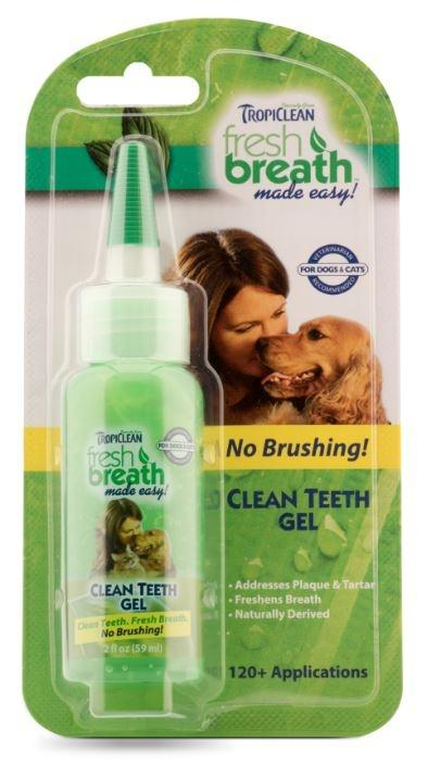 Tropiclean Fresh Breath Clean Teeth Gel for Dogs