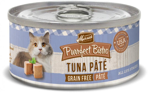 Merrick Purrfect Bistro Tuna Pate Grain Free Canned Cat Food