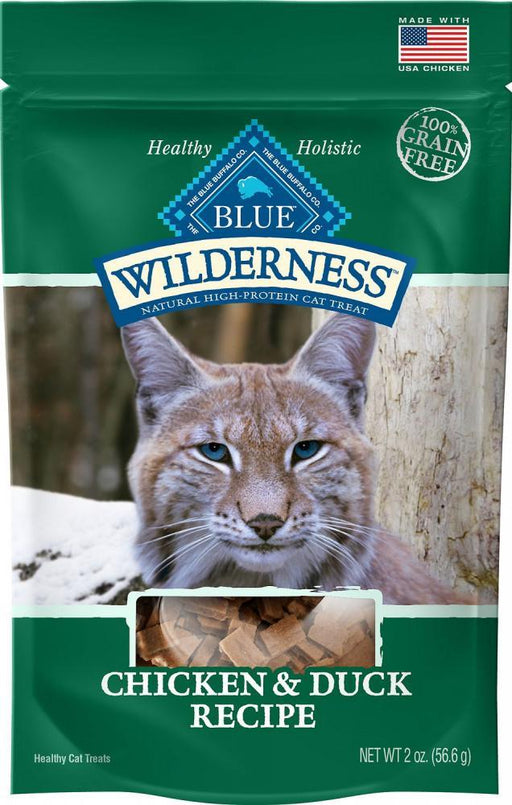 Blue Buffalo Wilderness Chicken & Duck Cat Treats