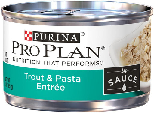 Purina Pro Plan Savor Adult Trout & Pasta Entree in Sauce Canned Cat Food